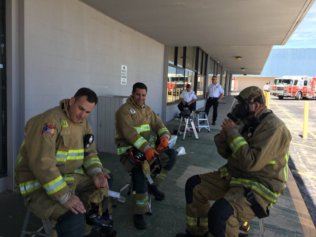Florida - 12 employees at Lake Emergency Medical Services in Mount Dora were exposed Wednesday to an unknown white powder