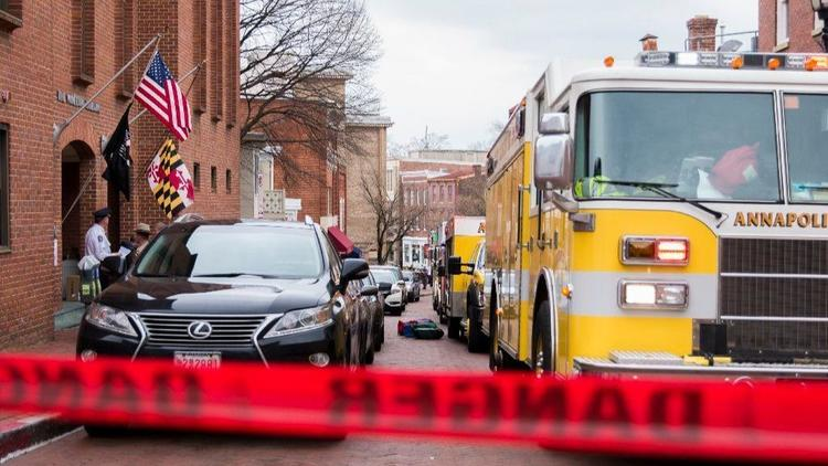 Maryland - Officials clear scene after investigating suspicious package in Annapolis