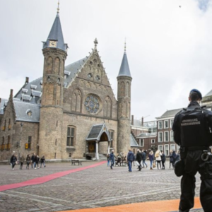 Dutch Parliament building on partial lock down after receiving white powder letter