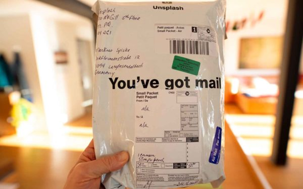Unknown Mail Package.