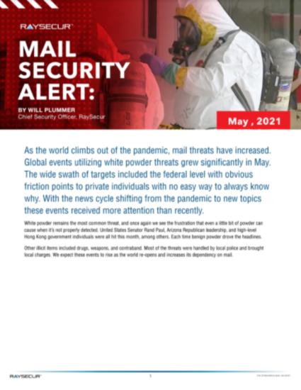 may mail security report