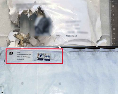 Dangerous Mail Threat History 17 - Incendiary 2020 thumb.