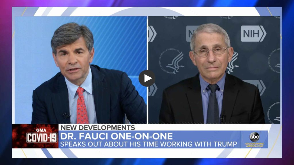 Fauci White Powder ABC News.