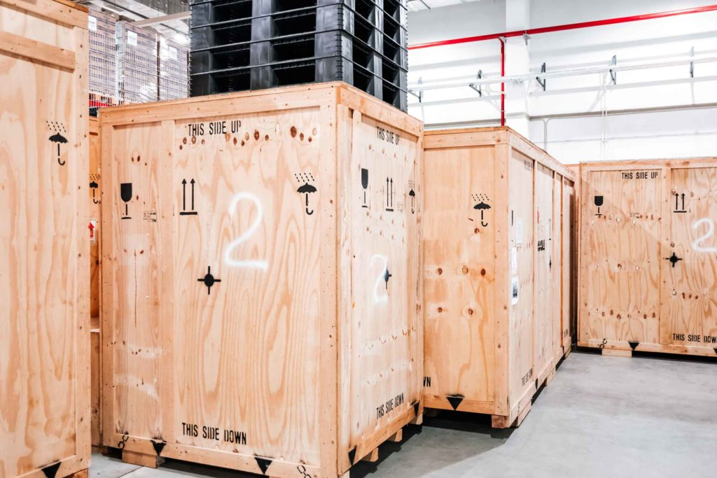 Large Boxes Chain of Custody.