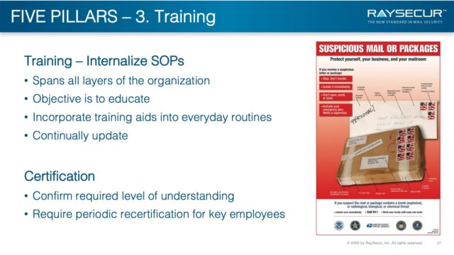 Five Pillars of Mail Security - #3: Training.
