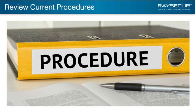 Mail Security Implementation: 17 - Review Procedures.