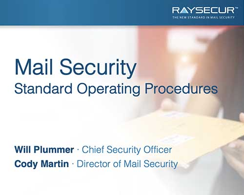 Mail Security SOP Workshop, by RaySecur.