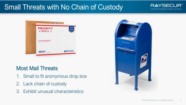 Mail Security in Executive Protection: Alex Sappok, Ph.D #3.