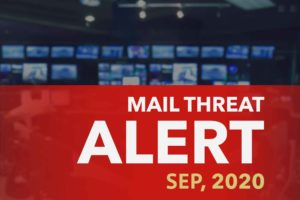 Mail Threat Alerts: September, 2020.