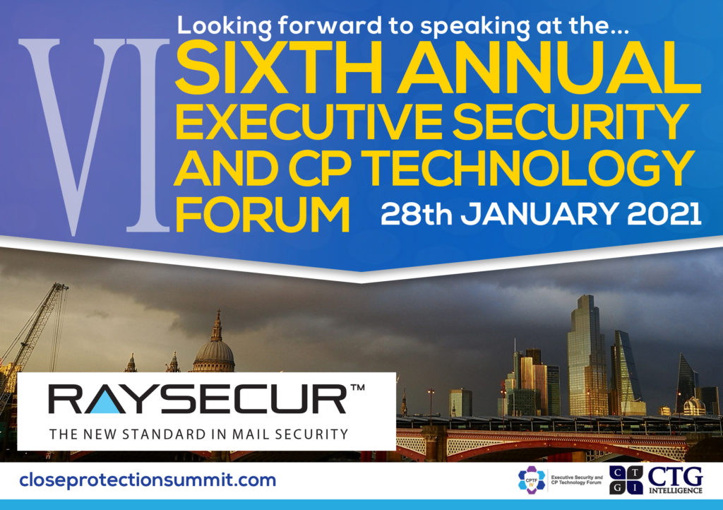 Sixth Annual Executive Security and CP Technology Forum14.