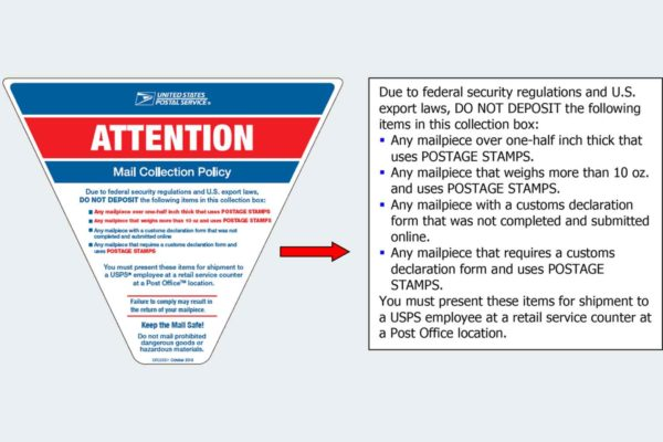 USPS Size Restrictions 2020.